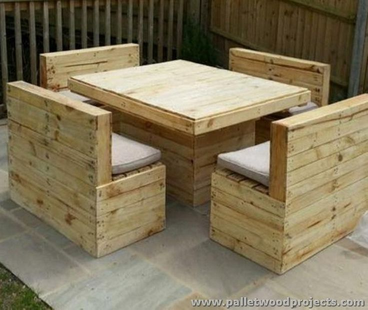 The 25 Best Pallet Outdoor Furniture Ideas On Pinterest Diy Pallet Pallet