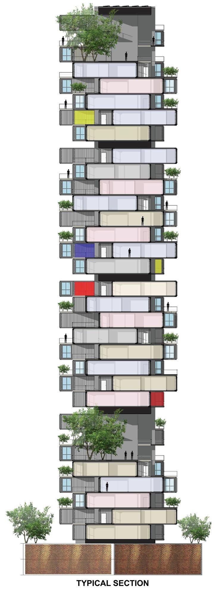 Shipping Containers As Housing Solution In Dharavi Slum   Ganti & Associates