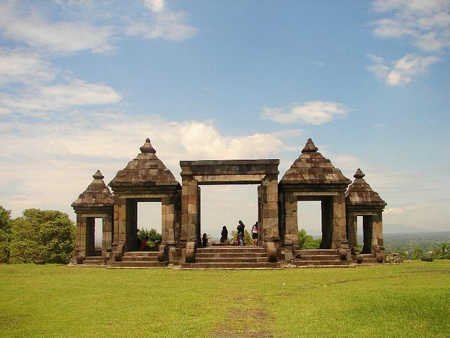 Ratu Boko, #Yogyakarta. Wonderful spot to watch sunset.