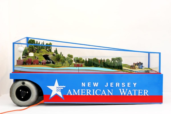 NJ American Water Promotional Model - Custom, portable, water model