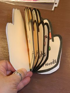 Make a prayer book. Each page of the book has something they are supposed to pray about.
