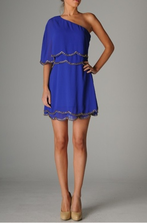 dressRoyal Blue Dresses, Birthday Dresses, Summer Dresses, Fashion, Clothing, Cobalt Blue, One Shoulder, Colors Blue, Royalblue