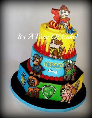 Paw Patrol Cake - CakesDecor