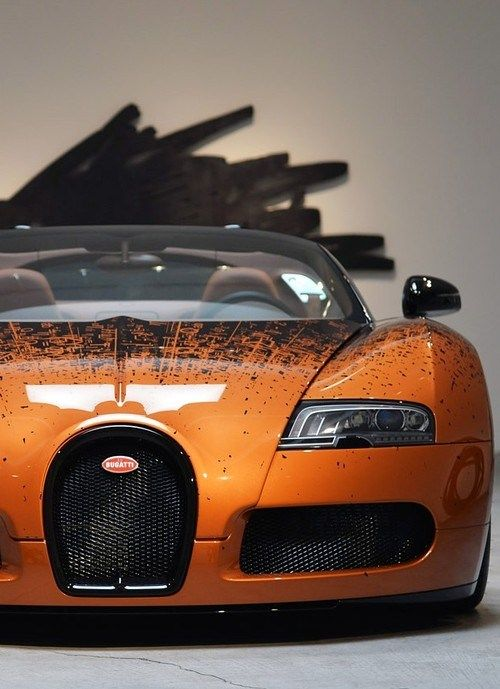 Espectacular la pintura de este Bugatti - coche de lujo, coche perfecto  www.cochessegundamano.es