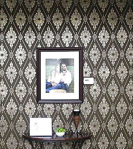 Hey, I found this really awesome Etsy listing at https://www.etsy.com/listing/62762925/diamond-damask-stencil-wallpaper