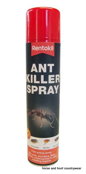 Rentokil Ant Killer Spray Kills most household insects such as ants woodlice beetles fleas and cockroaches The product can be used upside down ideal for treating under door thresholds.