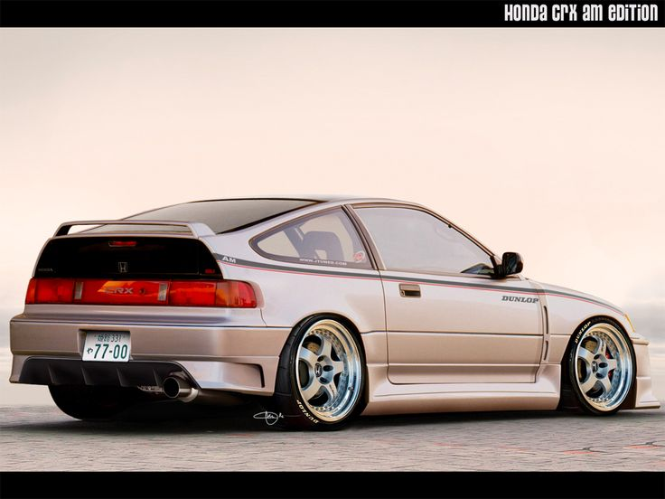 This is the only Honda I would ever waste time on The CRX..other than that honda sucks