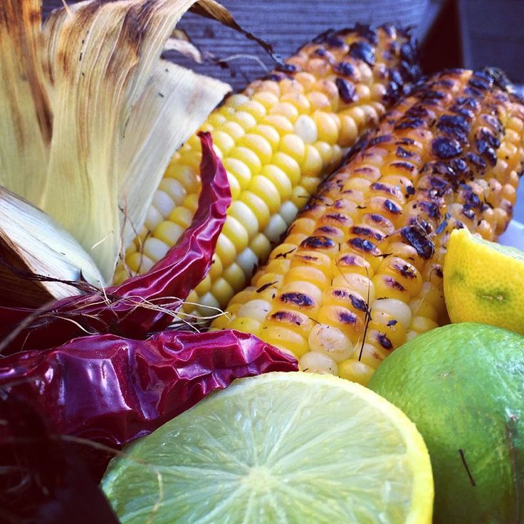 BBQ Corn with Lime Chilli