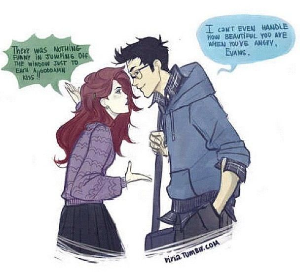 Jily fan-art by Viria: James Potter, Lily, Harrypotter, Lilies, Marauder, James D'Arcy, Harry Potter, Fandom