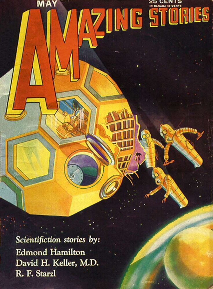 Comic Book Cover For Amazing Stories v05 02