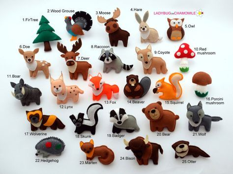 Turbo Les 25 meilleures idées de la catégorie Animaux de la forêt  HW37