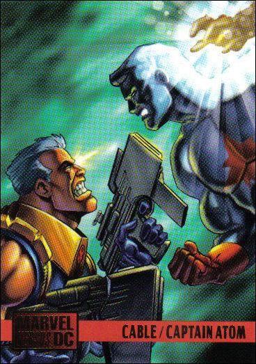 Cable vs Captain Atom ('95)