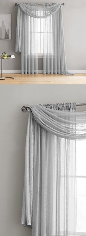 1000 Ideas About Window Scarf On Pinterest Bathroom