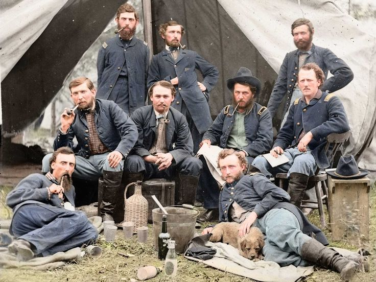 Amazing American Civil War Photos Turned Into Glorious Color - Business Insider