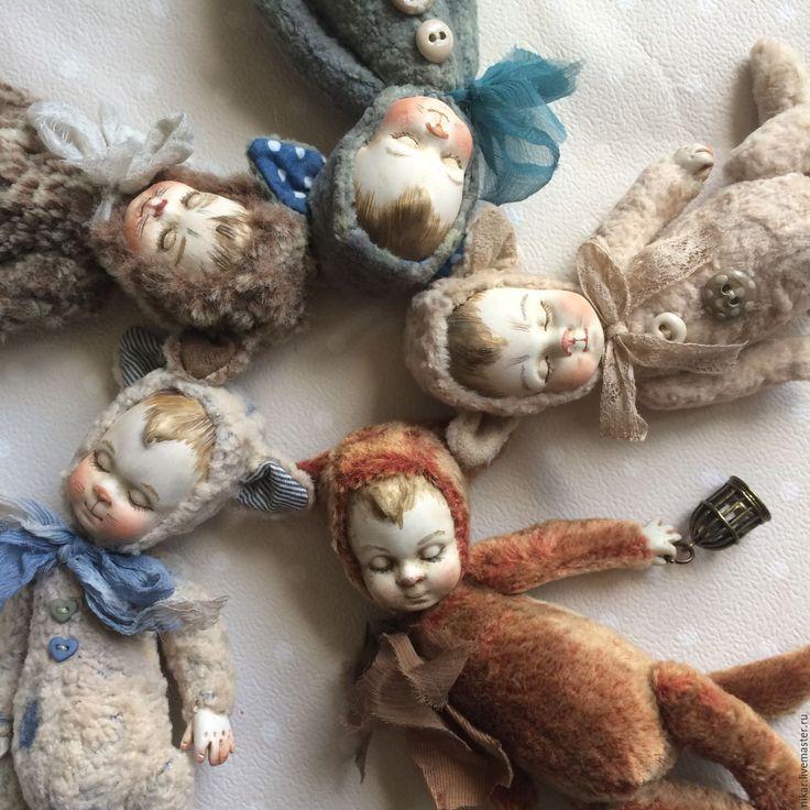 Купить Тедди-долл котята. - комбинированный, кот, коты, котенок, котята, кот игрушка