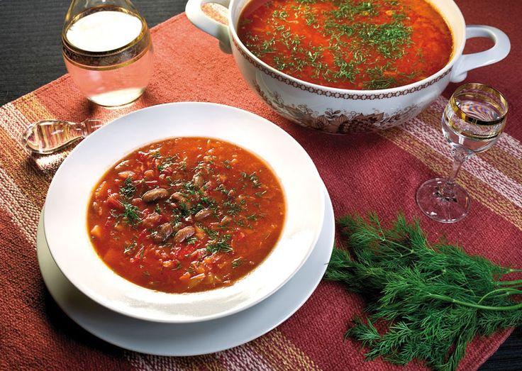 Вегетарианский борщ от www.dunduk-culinar.ru