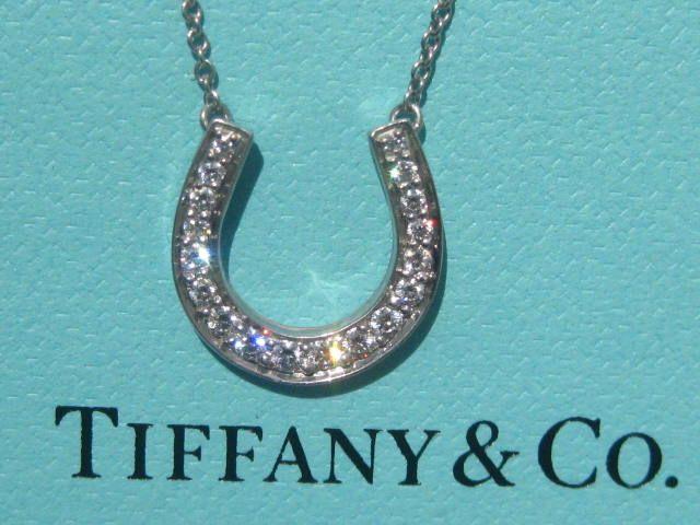 183e562a19ceae Tiffany & co. horseshoe horse shoe diamond platinum pt950 pendant necklace  | Jewelry | Pendants, Fashion outfits, Fashion