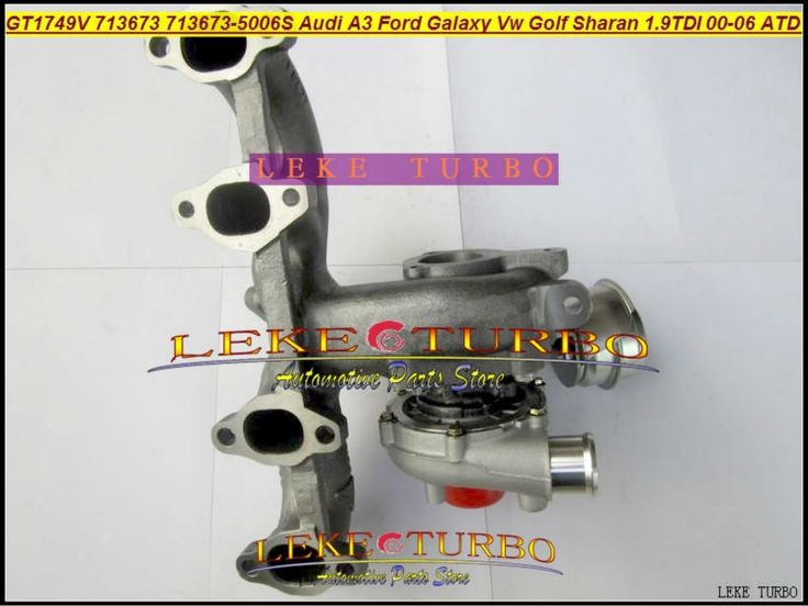 477.65$  Watch now - http://aliapp.worldwells.pw/go.php?t=32640782583 - Free Ship GT1749V 713673-5006S 713673 Turbocharger For Audi A3 For Ford Galaxy VW Golf Sharan Octavia I 00- ATD AUY AJM 1.9L TDI 477.65$