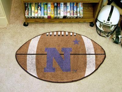 US Naval Academy Football Rug