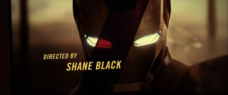 Directed by Shane Black Produced by Kevin Feige  More info: http://www.artofthetitle.com/title/iron-man-3/ http://www.artofvfx.com/?p=4320  Produced at Prologue…