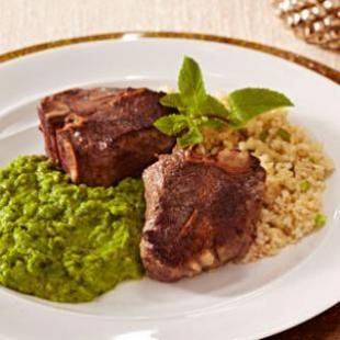 Try this recipe for Lamb Chops with Mashed Peas & Mint and many of our other healthy lamb chop recipes at eatingwell.com