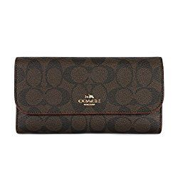 "Coach ""Wallets for Women"" Signature PVC (F52681) - Review"