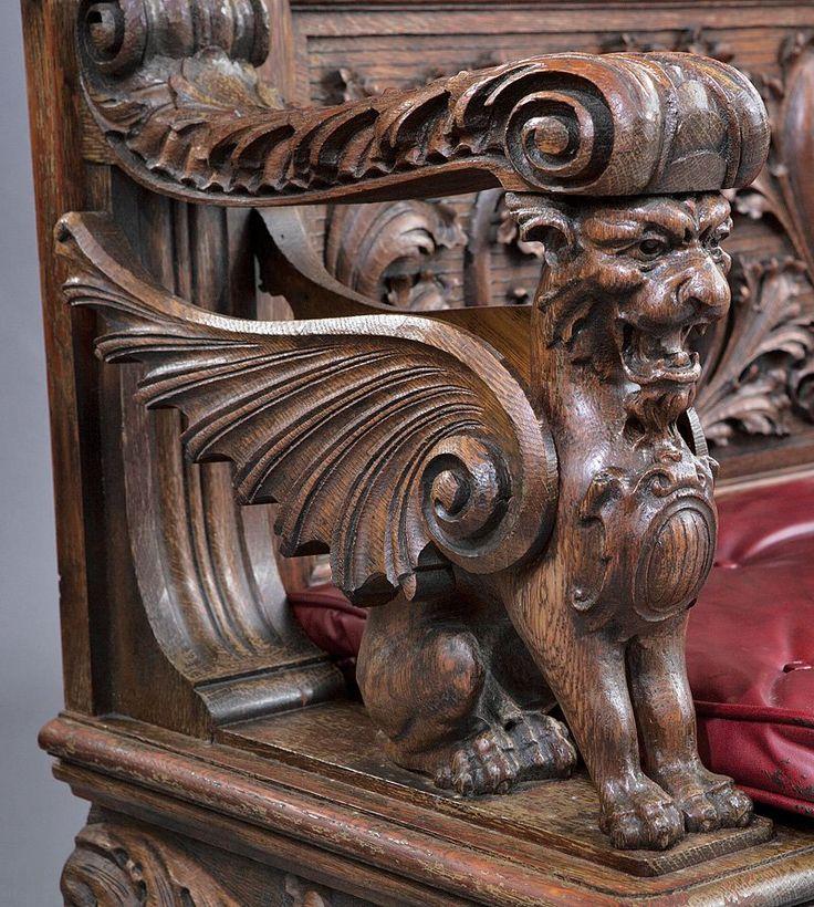 Travail érotique d'art antique