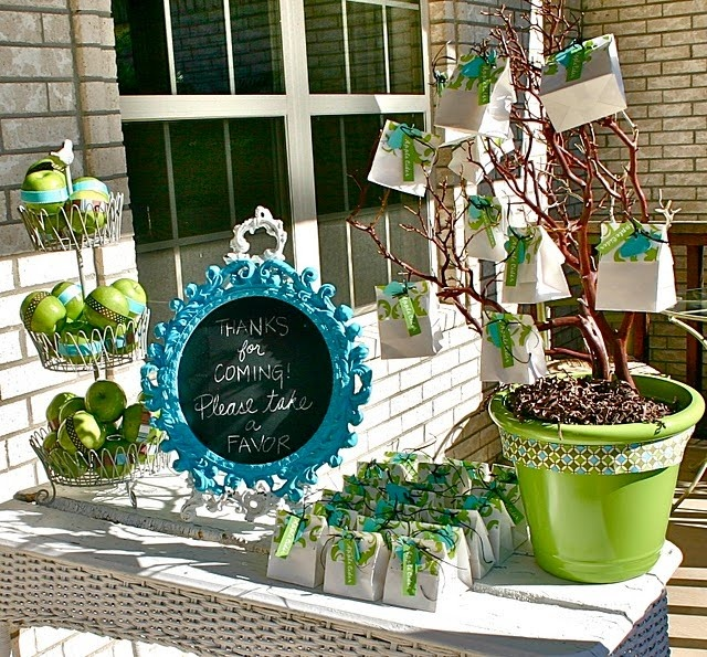 Modern Apple Baby Shower