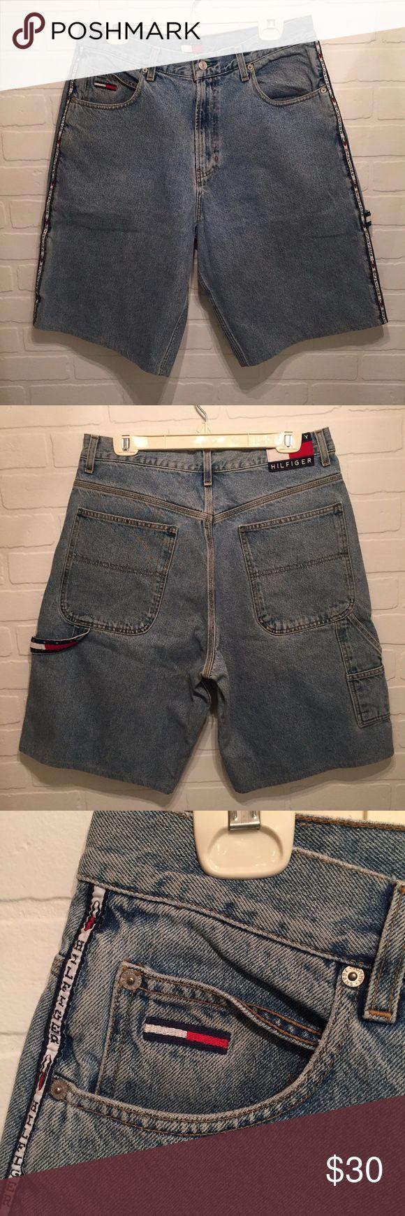 I just added this listing on Poshmark: Vintage Tommy Hilfiger Jean Shorts Mens Size 33. #shopmycloset #poshmark #fashion #shopping #style #forsale #Tommy Hilfiger #Other