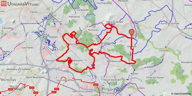 [Nord] Chicon Bike Tour 2017 - 48 km Ce tracé reprend le parcours de 48 km de la randonnée 2017 du Chicon Bike Tour. Composé de sentiers forestiers, de chemins agricoles et de traversées de terrils, ce parcours est très ludique et vous permettra de découvrir les paysages miniers des départements du Nord Pas-de-Calais. A faire aussi bien en hiver qu'en été, les sensations sont alors différentes.
