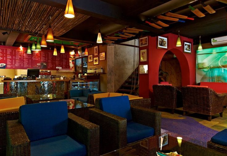 Architecture and interior design projects in India - Underworld Sports Cafe - SMITA & HABEEB KHAN ASSOCIATES - Nagpur