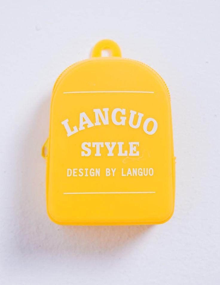 Mini silicone pencil case for Stationery