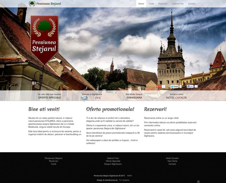 New Hotel Website Launched: CSS3, HTML5, Twitter Bootstrap 3