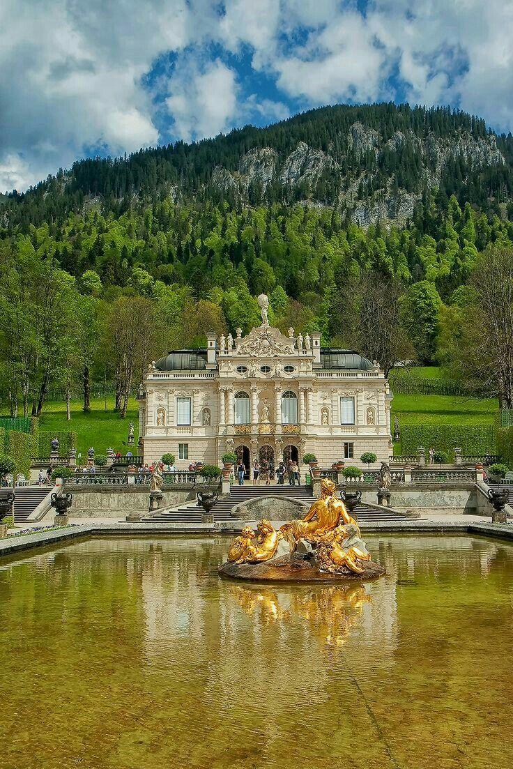Linderhof Palace Bavaria Germany Linderhof Palace Germany Castles Castle