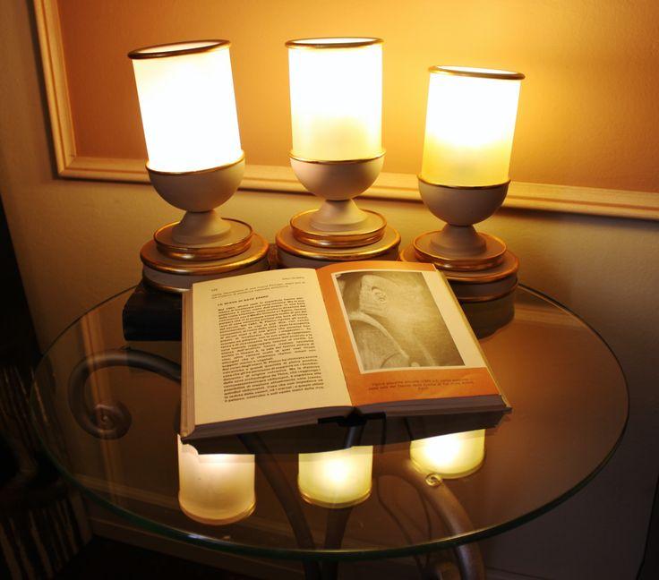 Oltre 25 fantastiche idee su lampade in vetro su pinterest - Tris lumi camera da letto ...
