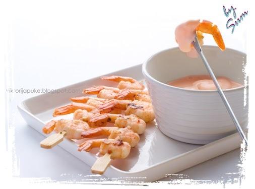Gamberetti in salsa cocktail (PP attacco/Pv crociera)
