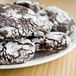 "Chocolate Crinkles II | ""I've made other chocolate crinkle/crackle recipes, but this is by far the best."""