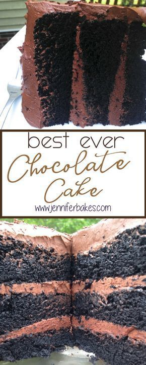 The Best Chocolate Cake You'll Ever Make- I promise – #cake #Chocolate #promise …