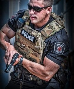 Tactical Plate Carrier Vest Police Law Enforcement