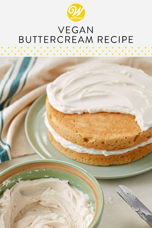 Vegan Buttercream Frosting Recipe Recipe Vegan Frosting Recipe Frosting Recipes Vegan Buttercream