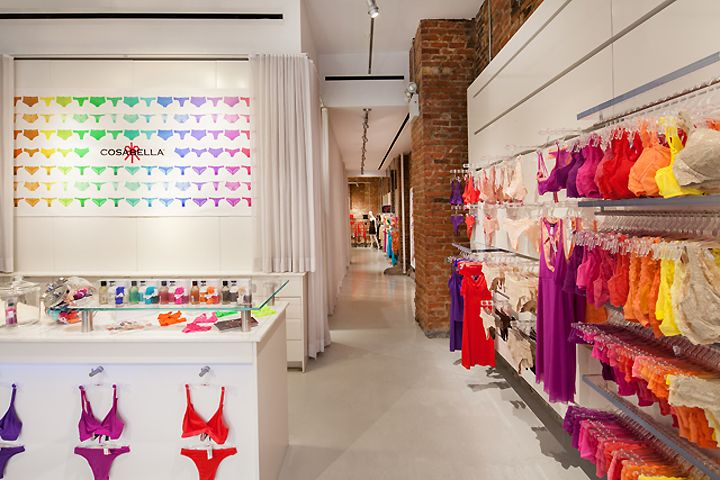 Cosabella store by Turett Collaborative Architects, New York City