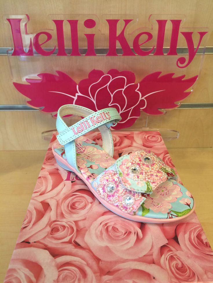 New Lelli Kelly Sandals Fiori De Pesco Size 24 25 26 27 28 29 30 31 32 33 34 35