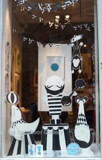 lovely pigeon: Roll Up! The Circus is in Town...(the red door gallery shop)