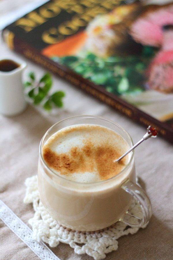 手作りコーヒーリキュール入りのチャイのレシピ