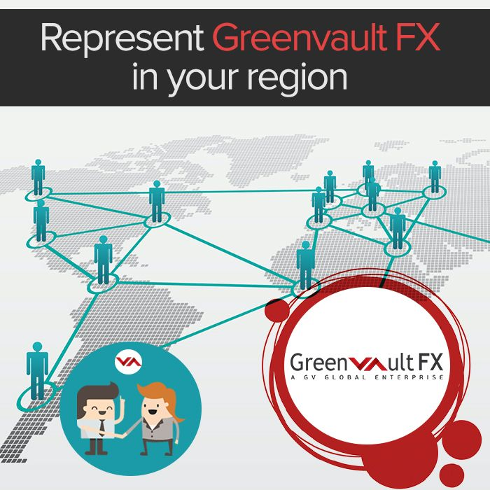 Become a partner with us and act on behalf of Greenvault #FX to improve brand visibility and also to manage your own office in your region.  Join hands with Greenvault FX to lead a successful business.