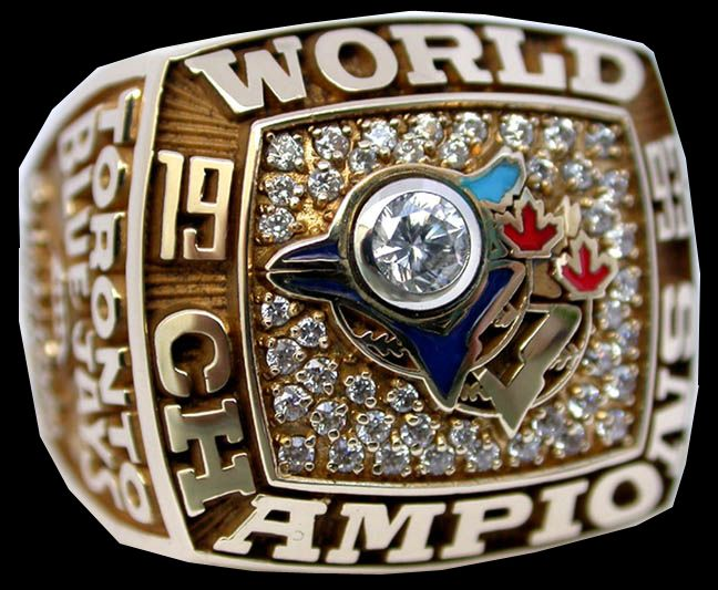1993 Toronto Blue Jays World Series Ring
