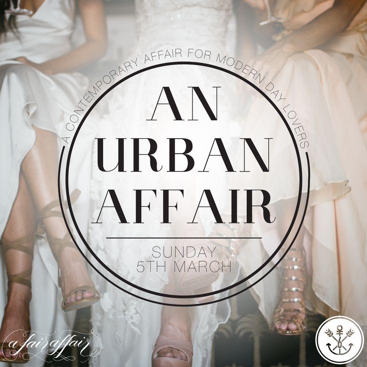 An Urban Affair, the wedding fair for ALL lovers, Darwin, NT Australia Sunday 5 March 2017 www.sixtanks.com.au