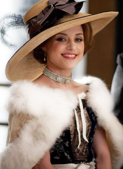 Zoe Tapper in Mr. Selfridge  #millinery #judithm #hats