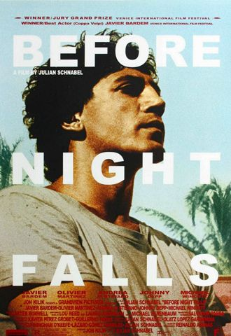 Before Night Falls - Movie Poster