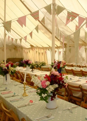 Glamping Reception tent, Dining tent